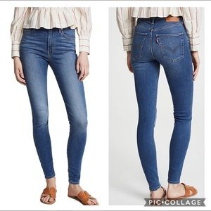 Mike high super skinny Levi's jeans